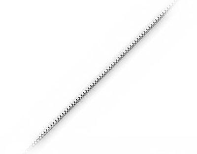 Venezia Box halskæde 46cm tykkelse 08mm Halskæder (3399)
