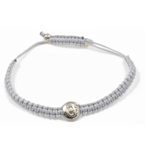 AUM armbånd i sølv med 1 diamant - La Chance