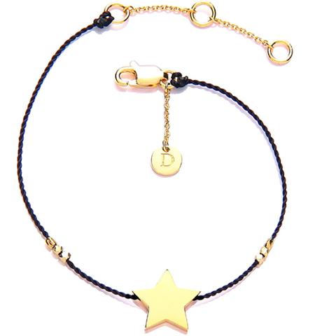 Good Karma Stjerne Armbånd - Forgyldt
