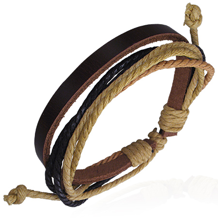 Læderarmbånd