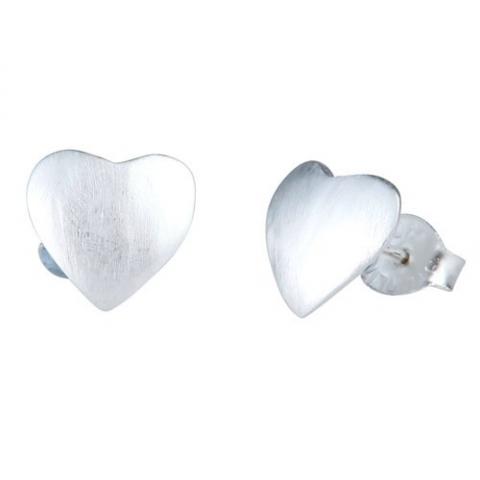 Ørestikker med hjerte - pr par