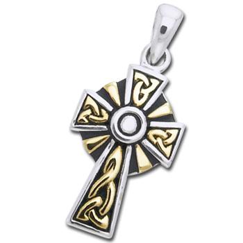 Keltisk Kors 30mm ukæde (3534)