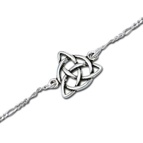 Ankelkæde med Treenighedssymbolet 22cm (3569)