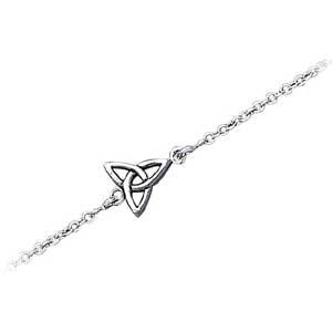 Ankelkæde med Treenighedssymbolet 17cm (2456)