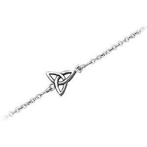 Ankelkæde med Treenighedssymbolet - 22cm