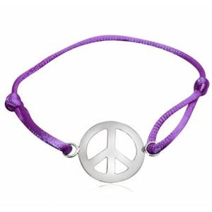 Armbånd med Peacetegn (2582)