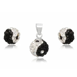 Smykkesæt med Yin Yang - u/kæde