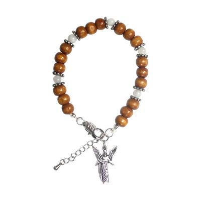 Armbånd med ærkeenglen Gabriel og Månesten