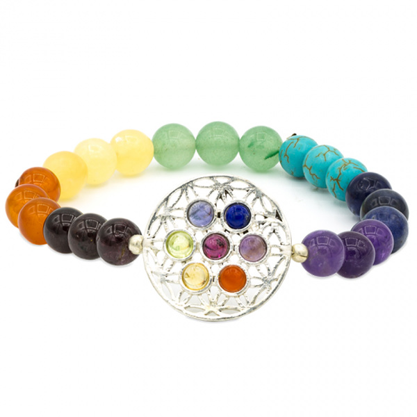 Image of   Chakra armbånd - Flower of life