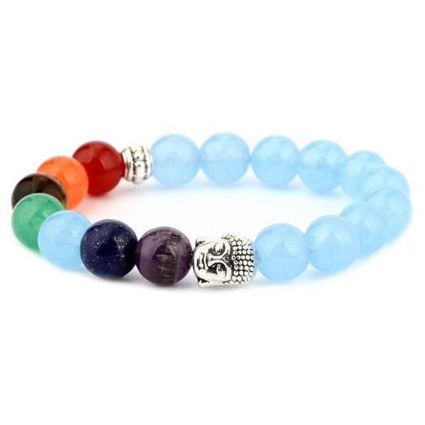 Image of   Chakra Buddha armbånd - Lykkearmbånd