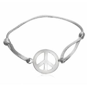Image of   Armbånd med Peacetegn