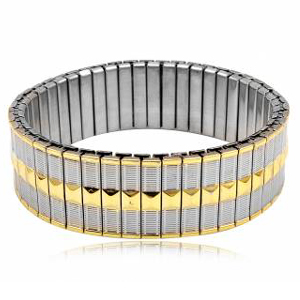 Image of   Armbånd i stål til mænd