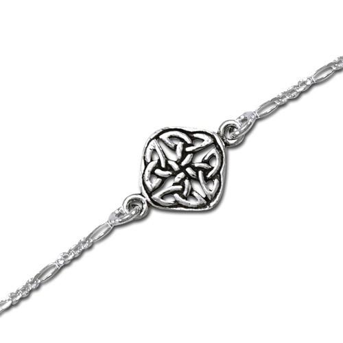 Image of   Armbånd med Keltisk knude mønster - 17cm